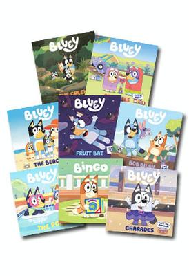 Bluey Set of 7 Books by Bluey