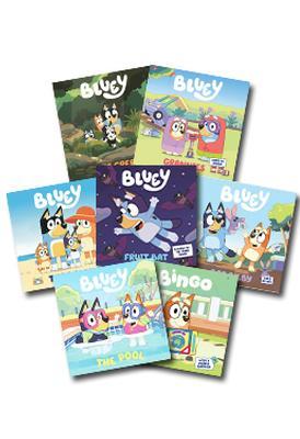 Bluey Set of 7 Books by Bluey