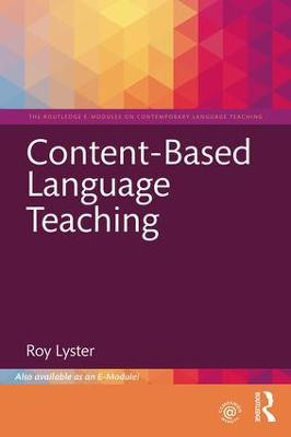 Content-Based Language Teaching by Roy Lyster