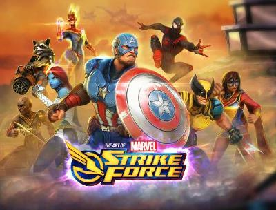 Marvel Strike Force: The Art Of The Game by Marvel Comics