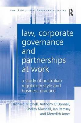 Law, Corporate Governance and Partnerships at Work by Richard Mitchell
