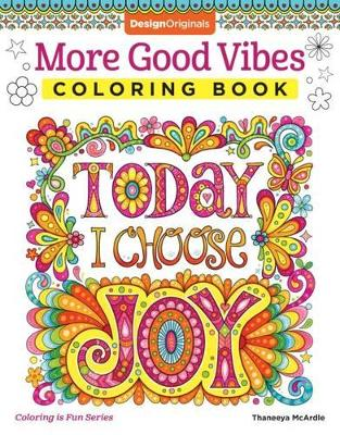 More Good Vibes Coloring Book book