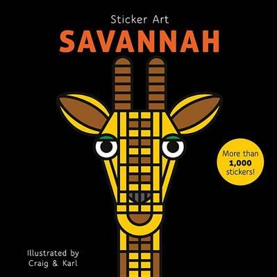 Sticker Art Savanna by Craig & Karl