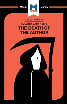 Roland Barthes' The Death of the Author by Laura Seymour