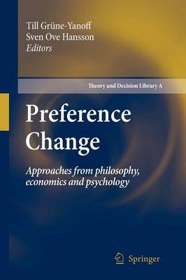 Preference Change by Till Grune-Yanoff