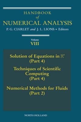 Handbook of Numerical Analysis book