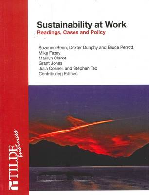 Sustainability at Work by Suzanne Benn