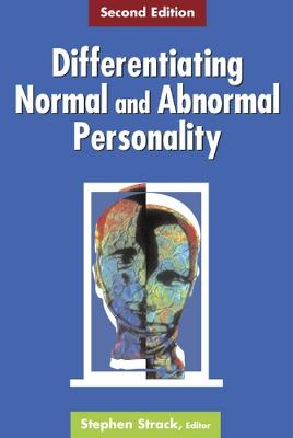 Differentiating Normal and Abnormal Personality book