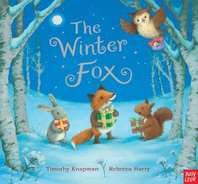 Winter Fox by Timothy Knapman