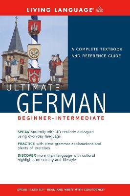 Liv Lang Ult German Beg-Int Book by Living Language