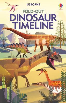 Fold-Out Dinosaur Timeline by Rachel Firth