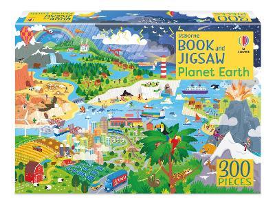 Usborne Book and Jigsaw Planet Earth by Sam Smith