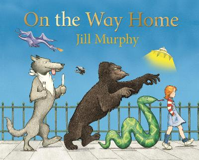 On the Way Home by Jill Murphy