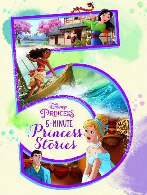 DISNEY PRINCESS 5-MIN STORIES book