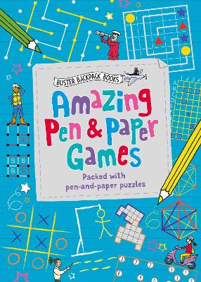 Amazing Pen & Paper Games: Packed with pen-and-paper puzzles by Gareth Moore