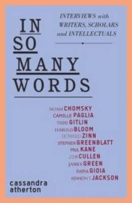 In So Many Words by Cassandra Atherton