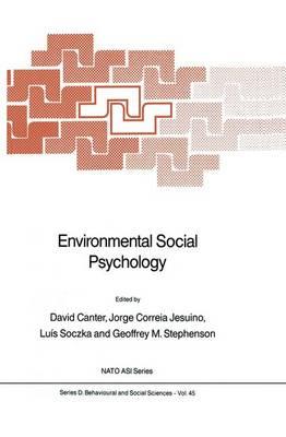 Environmental Social Psychology by David Canter