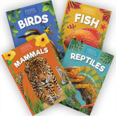 Animal Classification Set of 4 by null
