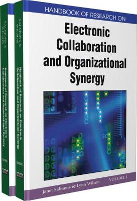 Handbook of Research on Electronic Collaboration and Organizational Synergy by Janet Salmons