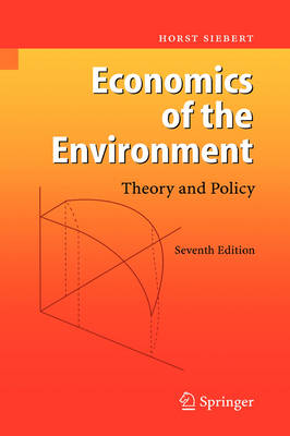 Economics of the Environment by Horst Siebert