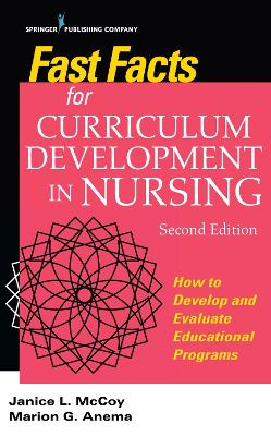 Fast Facts for Curriculum Development in Nursing book