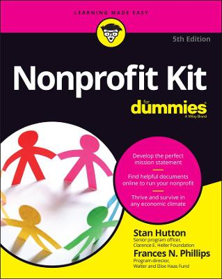 Nonprofit Kit for Dummies 5th Edition by Stan Hutton