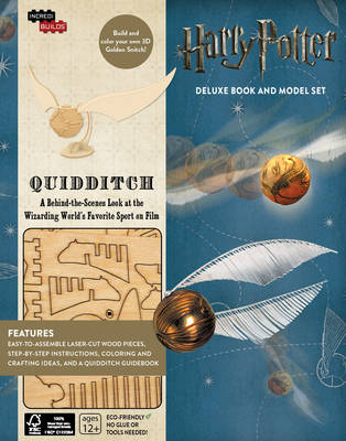 Incredibuilds: Harry Potter: Quidditch D by Jody Revenson
