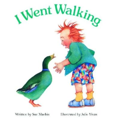 I Went Walking: Board Book by Sue Machin
