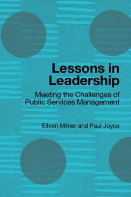 Lessons in Leadership by Eileen Milner
