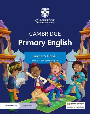 Cambridge Primary English Learner's Book 5 with Digital Access (1 Year) by Sally Burt