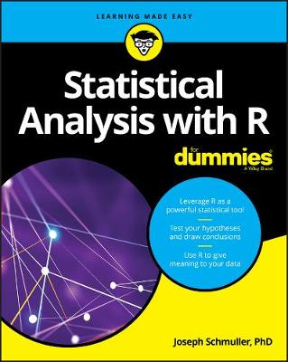 Statistical Analysis with R For Dummies by Joseph Schmuller