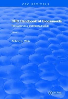 CRC Handbook of Eicosanoids, Volume II book