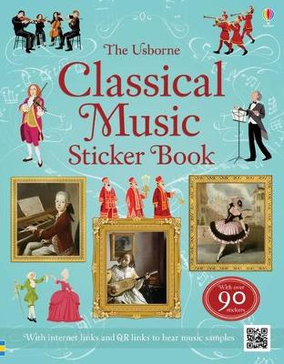 Classical Music Sticker Book by Anthony Marks