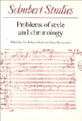 Schubert Studies by Eva Badura-Skoda