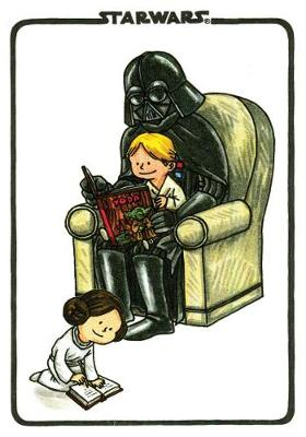 Darth Vader and Son Flexi Journal by Jeffrey Brown