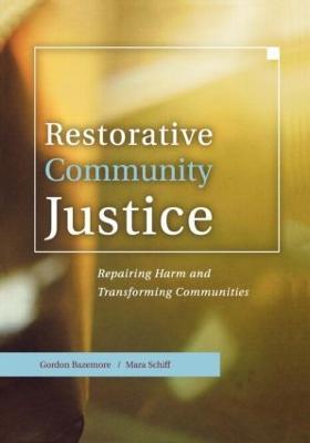 Restorative Community Justice book