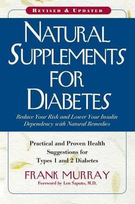 Natural Supplements for Diabetes book