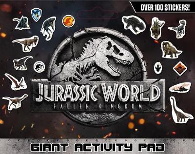 Jurassic World 2: Fallen Kingdom Giant Activity Pad book