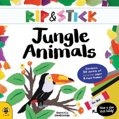 Rip and Stick Jungle Animals Activity Book by Sam Hutchinson