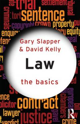 Law: The Basics by Gary Slapper