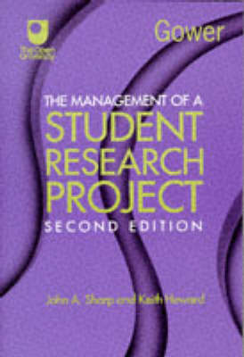 The Management of a Student Research Project by Professor Keith Howard