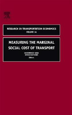 Measuring the Marginal Social Cost of Transport by Nash