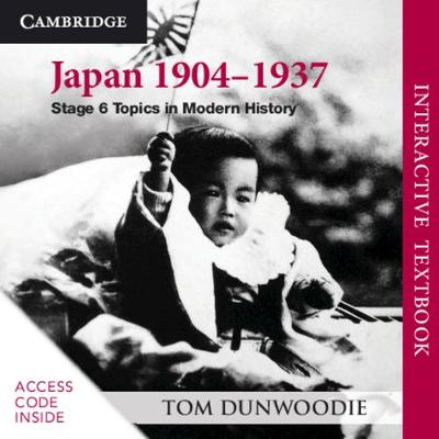 Japan 1904-1937 Digital Card: Stage 6 Topics in Modern History book