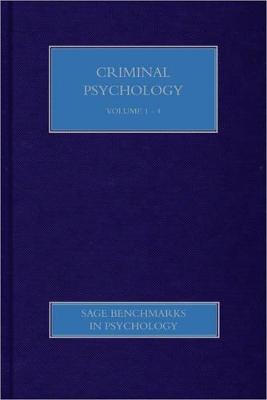 Criminal Psychology book