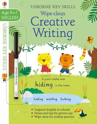 Wipe-Clean Creative Writing 6-7 by Caroline Young