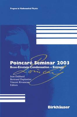 Poincare Seminar 2003 by Jean Dalibard