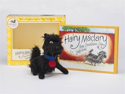 Hairy Maclary Book And Toy Set by Lynley Dodd