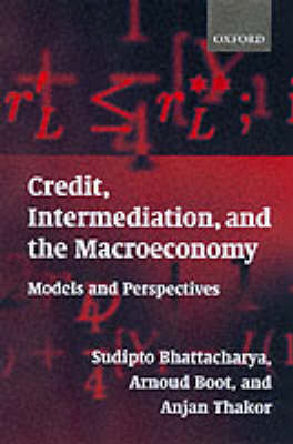 Credit, Intermediation, and the Macroeconomy book