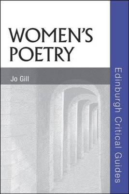 Women's Poetry by Jo Gill