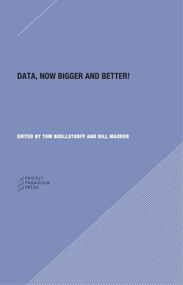 Data - Now Bigger and Better! by Genevieve Bell
